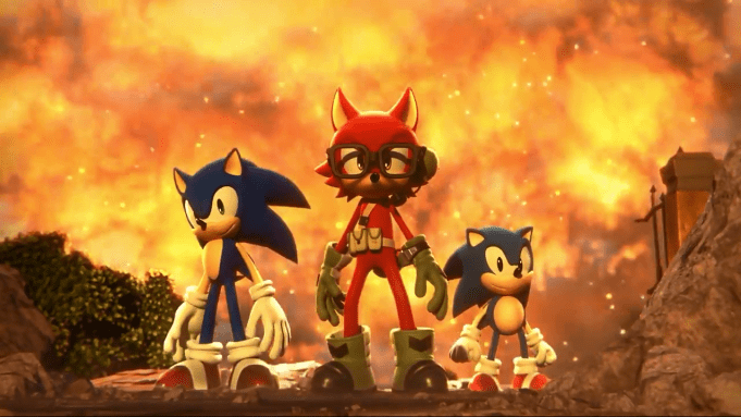 Sonic Forces - Create a Hero