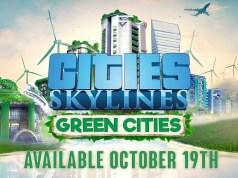 Cities Skylines: Green Cities Releases In October