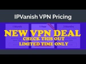 IPVanish unique deal throughout Amazon Prime week 2019 - VPN