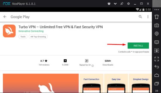 Turbo VPN for PC