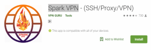 Spark VPN For Windows