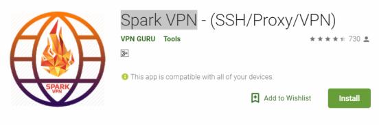 Spark VPN For Windows