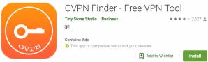 OVPN Finder for Windows