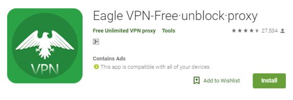 Eagle VPN for PC