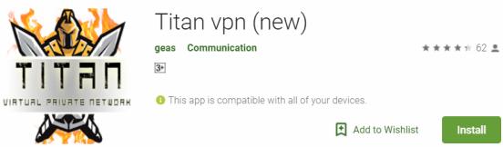 Titan VPN For Windows