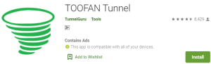 TOOFAN Tunnel For Windows