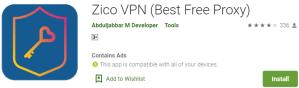 Zico VPN For Windows
