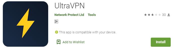 UltraVPN for PC