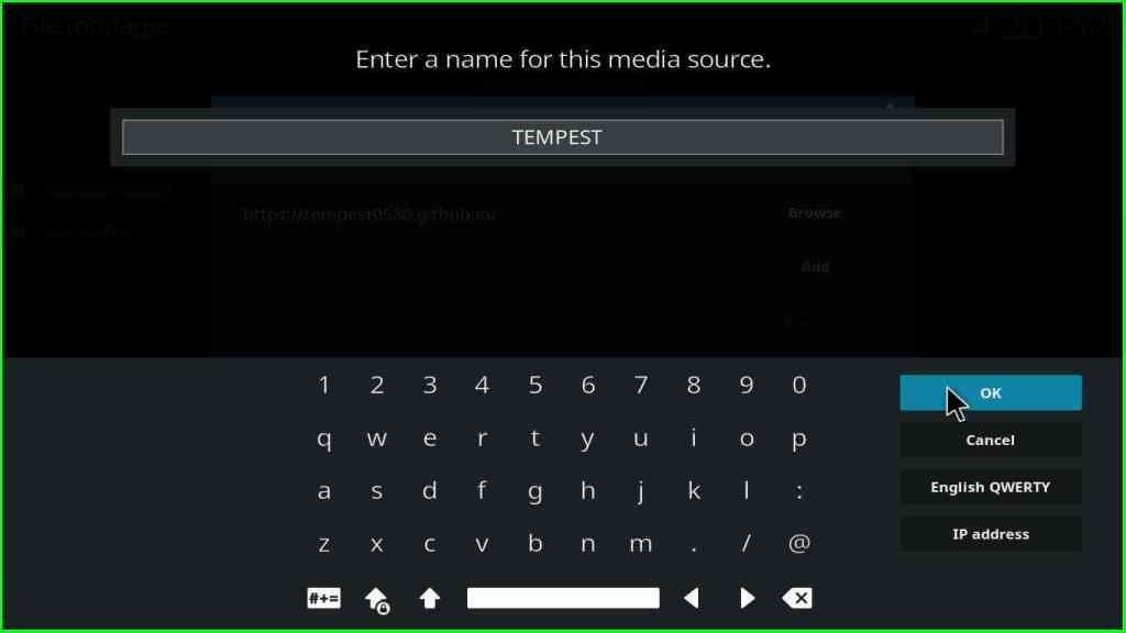 tempest addon kodi installation step 8
