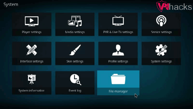 tubitv file manager