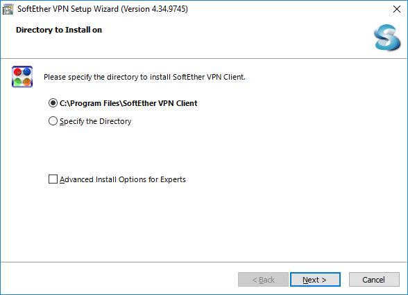softether vpn installation on windows step 5
