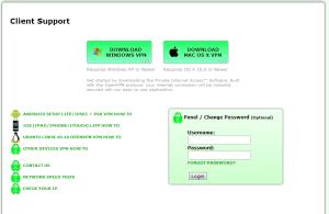 test private Internet acces