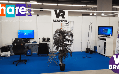 Animation en réalité virtuelle au salon SHARE Paris