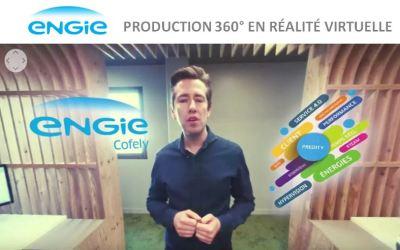 Production vidéo 360 et coulisses du tournage pour ENGIE Cofely