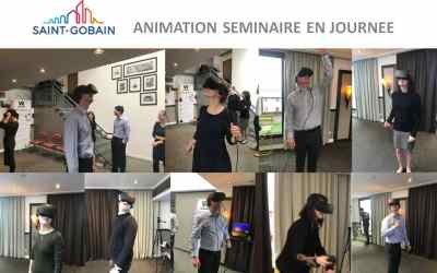 idée activité séminaire entreprise – la réalité virtuelle à Paris pour Saint-Gobain