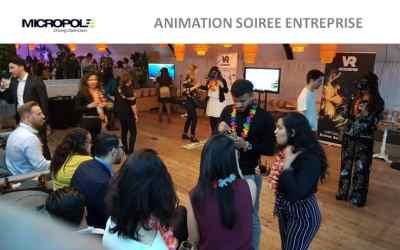 ►Animation HTC Vive d'une soirée d'entreprise avec la réalité virtuelle