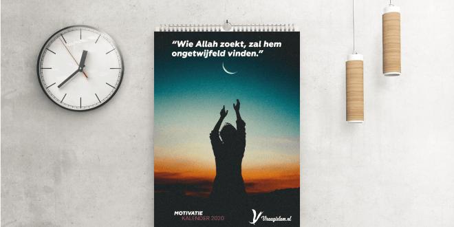 Islamitische motivatiekalender 2020 Vraagislam