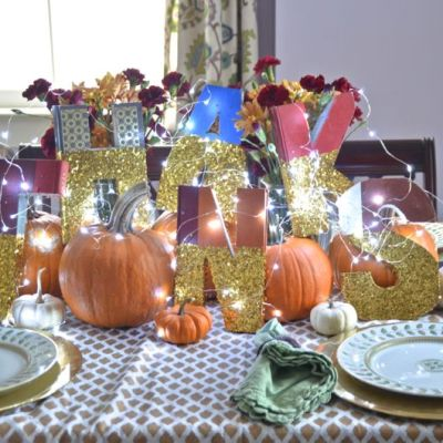 Thanksgiving Centerpiece - VRAI Magazine