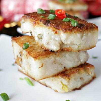 Chinese Vegan Radish Cake -- VRAI Magazine