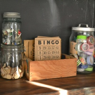 Glass jars for storage -- VRAI Magazine