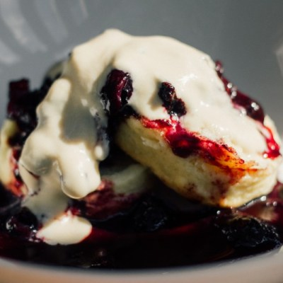Summer Berry Chutney Shortcake -- VRAI Magazine