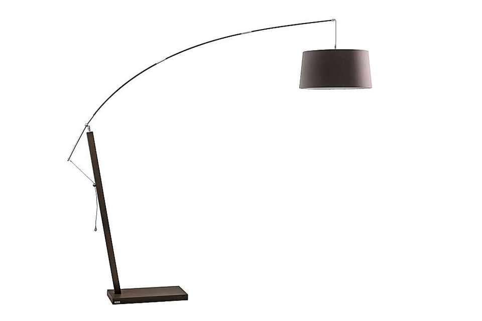 lampadaire ajustable en hauteur et en profondeur