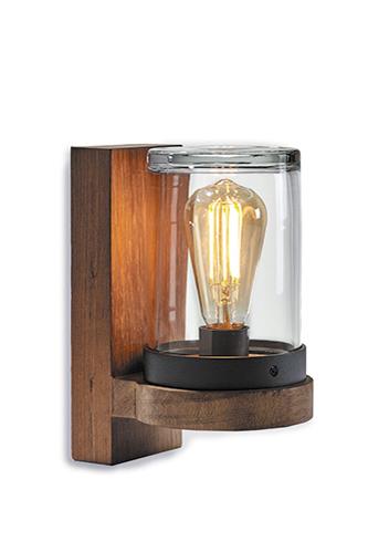 clear glass wall light decorative bulb waterproof ip54