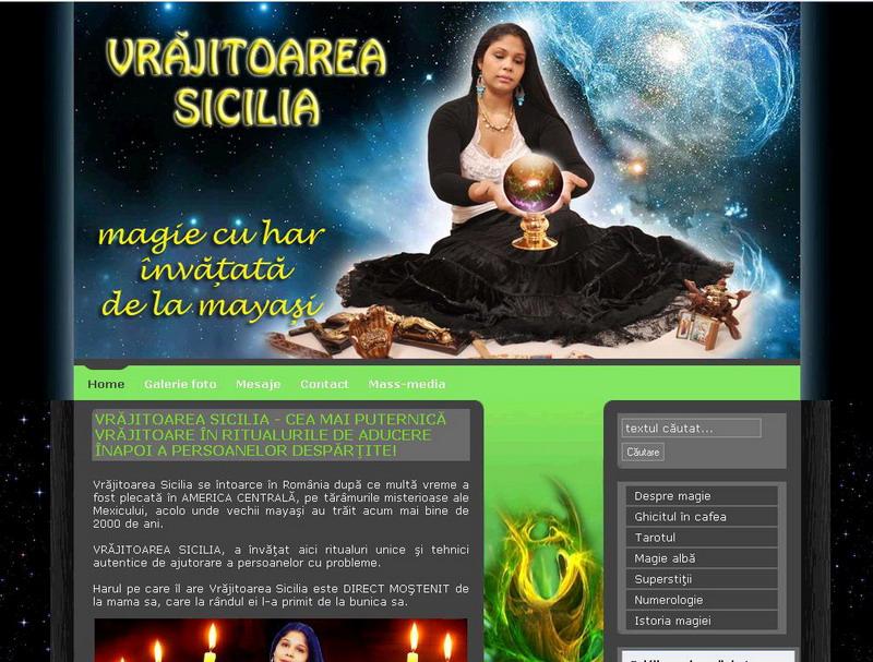 Globalizare le-a cuprins şi pe vrăjitoare, care au acum siteuri moderne