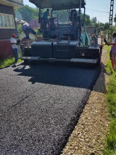asfaltare drum comunal