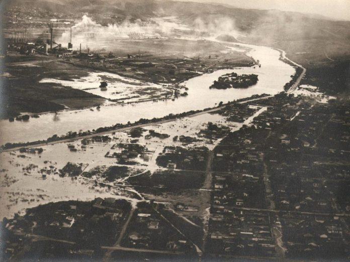 Alagamento Rio Paraíba do Sul