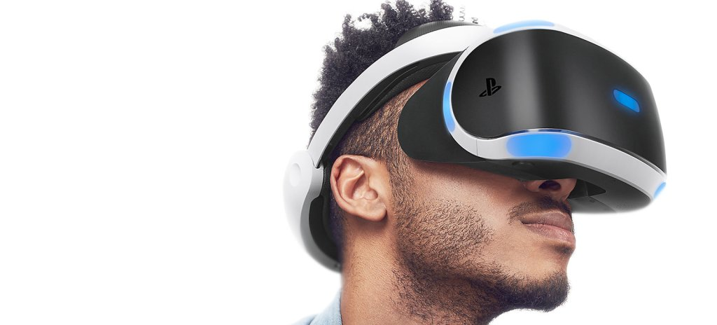 Man playing top 4 playstation vr games in playstation vr