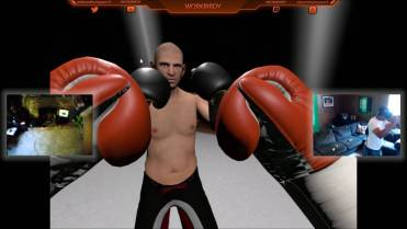 thrill of the fight boxer in ring with player opponents in real time
