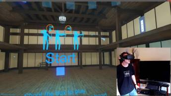 Holopoint review for the HTV Vive or Oculus Rift - VR Fitness Games