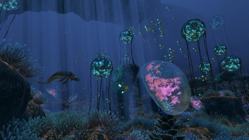 subnautica game for oculus rift screenshot for review