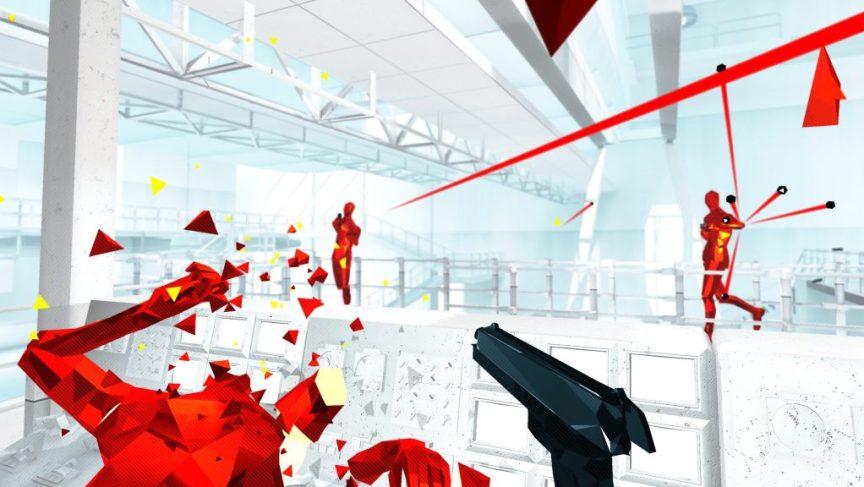 superhot vr for oculus rift review screenshot