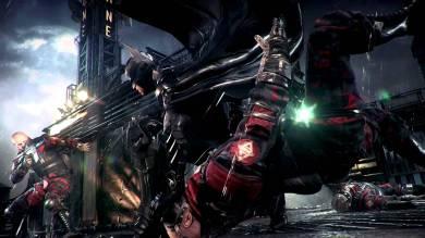 Batman Getting shot at