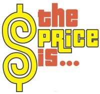 the price is with price is right logo