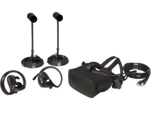 oculus rift with touch controllers hdmi and sensors
