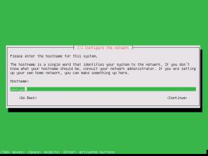 3 install hostname