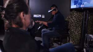 VR exposure therapy for PTSD.
