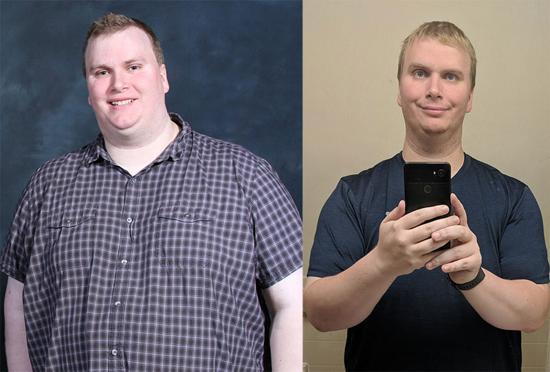 Bill Loses 90 Pounds With Beat Saber, BOXVR, Weights and