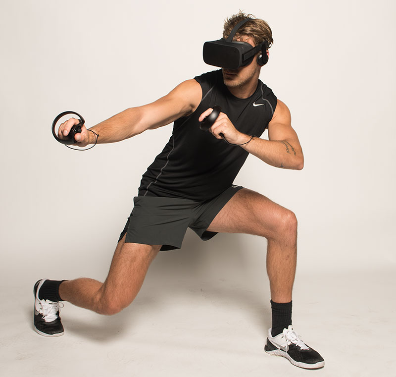 Tap Into Adrenaline With VR and Fitness