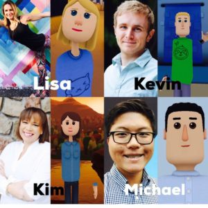 EvolVR Instructors and Their Avatars