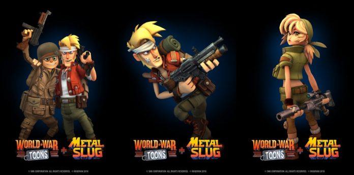 World War Toons and Metal Slug VR