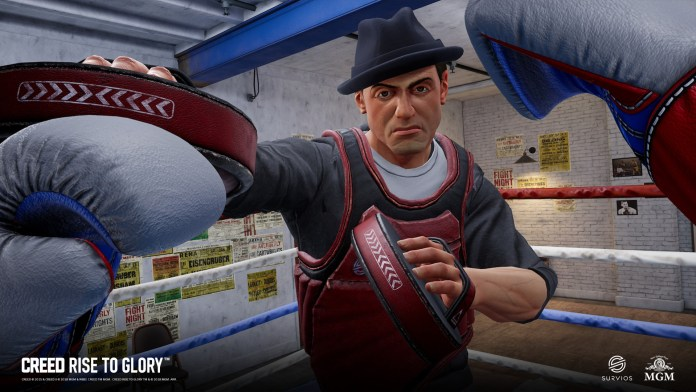 creed rise to glory rocky vr