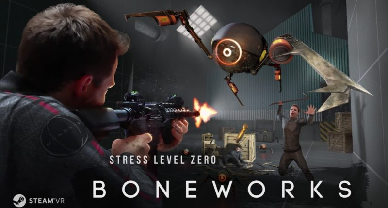 BONEWORKS VR Game Review – the Physics are Phenomenal but Pukey