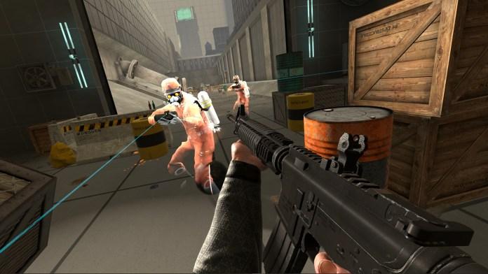 best shooter vr fitness games