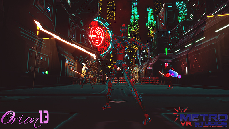 Orion13 Combines Hack-and-Slash Gameplay With Full-Body VR Challenges