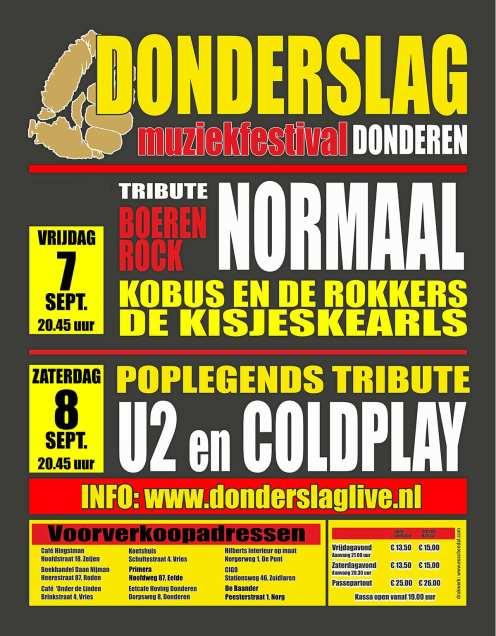 Flyer Donderslag 2018