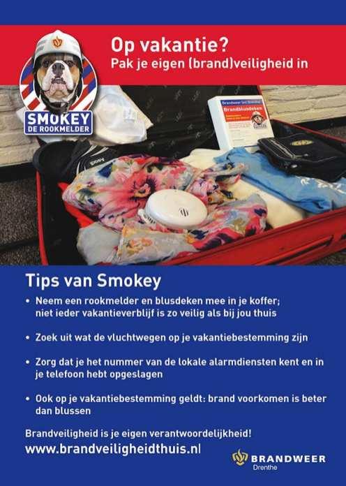 Flyer Smokey vakantietips